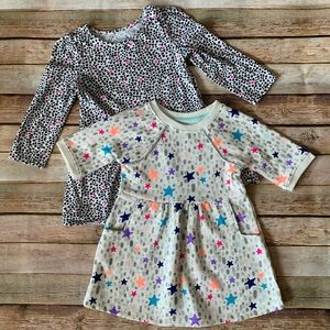 Cat & Jack Long Sleeved Dresses - Size 18 Months